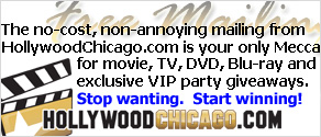 HollywoodChicago.com Hookup, free entertainment giveaway mailing
